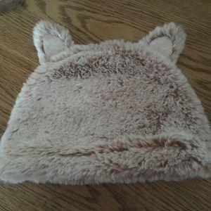 Cat & Jack 0-3 months baby bear hat